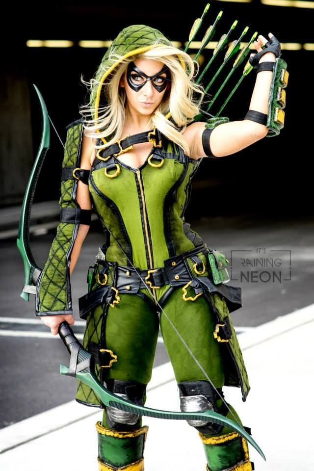 Green Arrow lady outfit