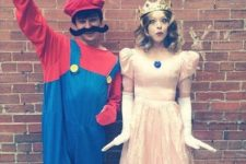 14 Mario and the Princess costumes for game fans