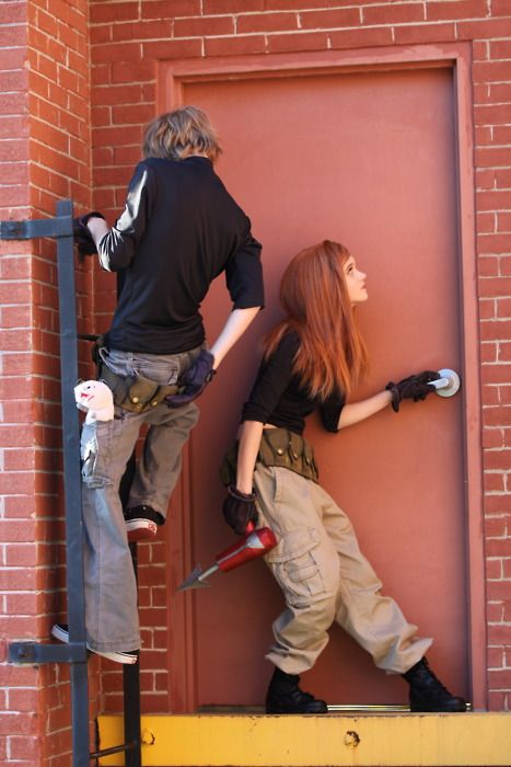 Kim Possible cosplay for two