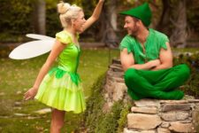16 Peter Pan and Tinker bell cotumes for tale-loving couples