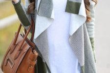 16 drape cardigan is a cool way to attract attention to your look