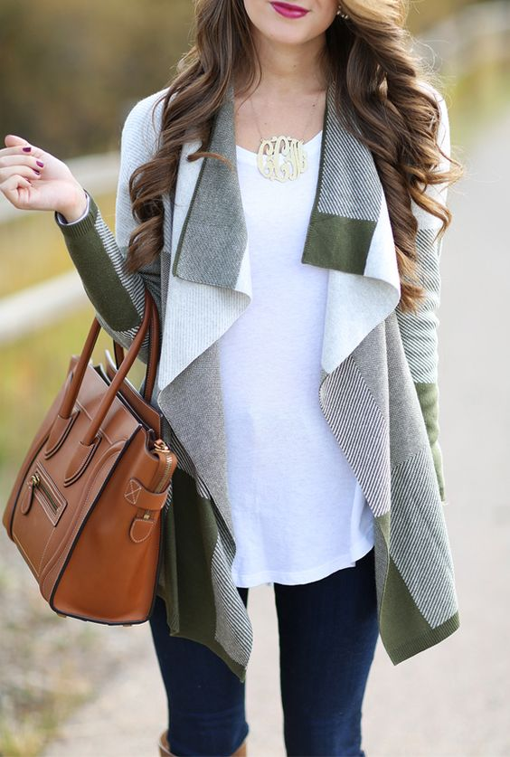 drape cardigan is a cool way to attract attention to your look