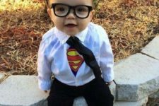 16 make your boy feel a superhero with a Superman costume