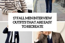17 fall men interview outfits that are easy to recreate cover