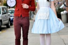 18 Alice and the White Rabbit for Halloween