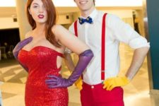 19 Rabbit and Jessica rabbit bold look