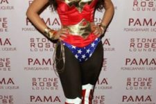 21 sexy Wonder Woman costume by Kim Kardashian