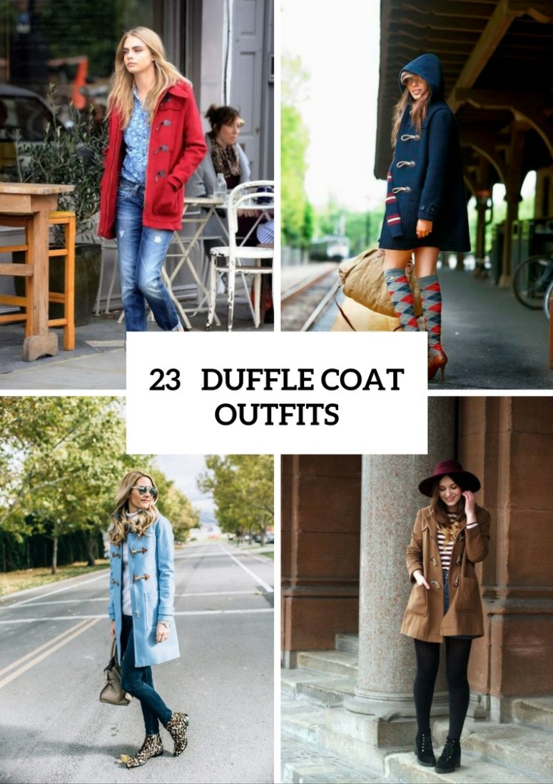 Duffle Coat Outfits For Fall And Winter