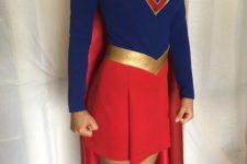 23 Super Girl costume