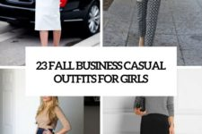 23 fall business casual outfits for girls cover