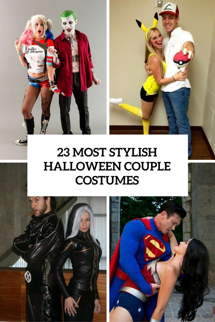 23 Most Stylish Halloween Couple Costumes
