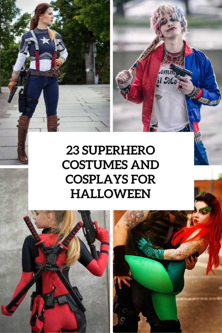 23 Superhero Costumes And Cosplays For Halloween