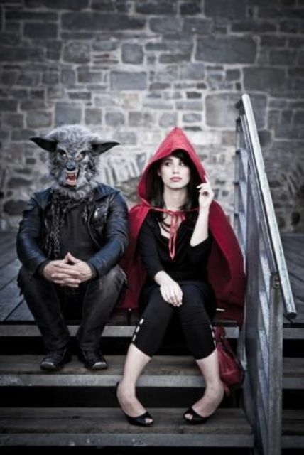 wolf and Litttle Red riding hood