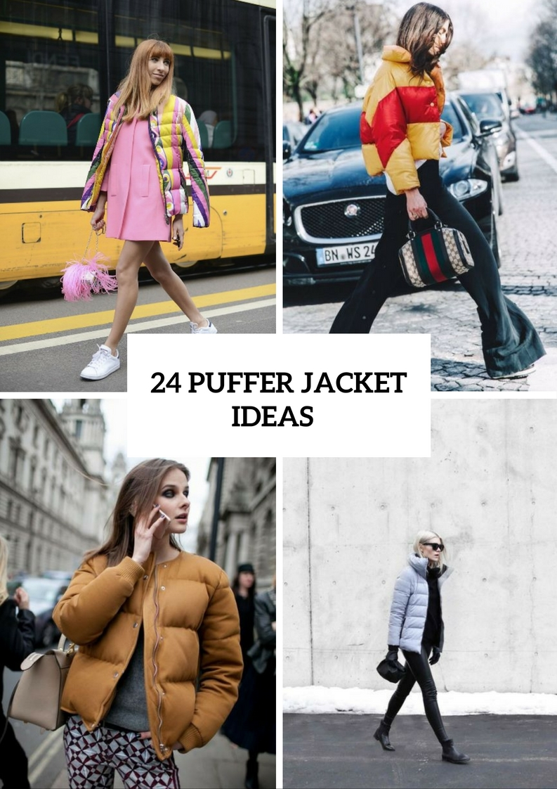 Trendy Puffer Jacket Ideas For Fall And Winter