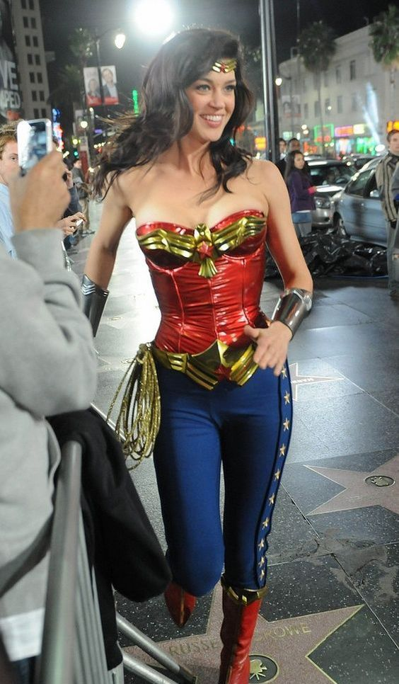 Wonder Woman look with pants