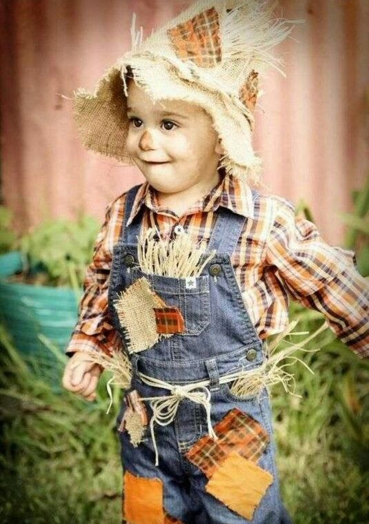scarecrow costume for little boys is a funny one