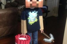 25 simple Minecraft costume will take you just a couple of minutes to make