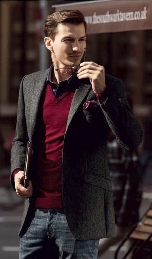 26 Chic Tweed Blazer And Jacket Looks For Men - Styleoholic