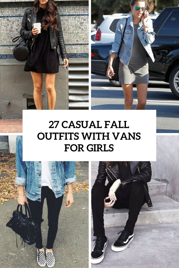 bc3e5f56514 27 Casual Fall Outfits With Vans For Girls - Styleoholic