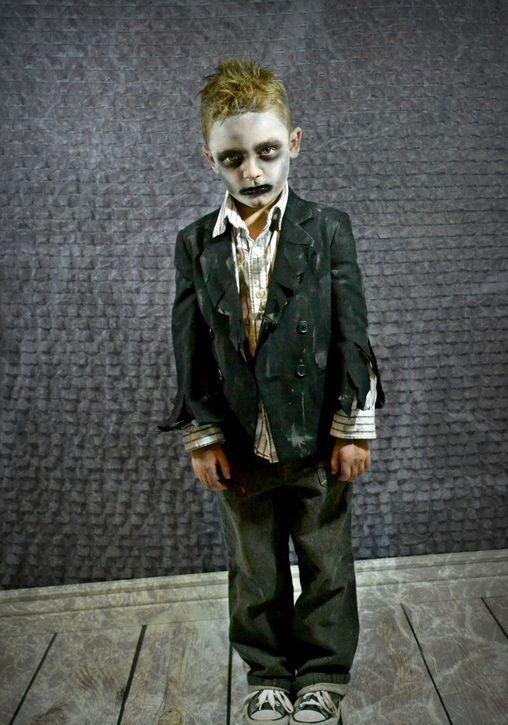 zombie costume requires makeup too