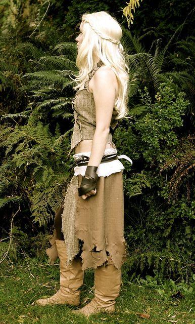 Daenerys' Doth Raki costume