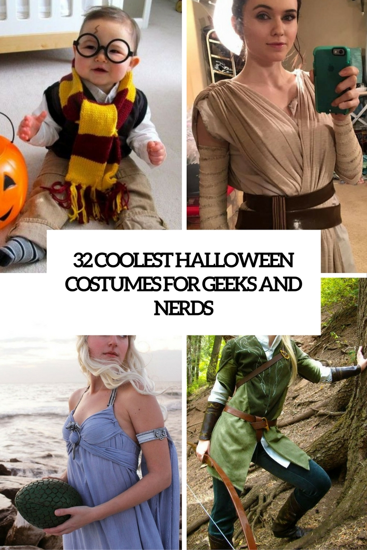 32 Coolest Halloween Costumes For Nerds And Geeks  sc 1 st  Styleoholic & 32 Coolest Halloween Costumes For Nerds And Geeks - Styleoholic