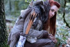 33 wildling cosplay girl kissed by fire