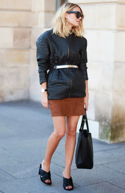 22 Incredible Belted Jacket Outfits To Repeat Styleoholic