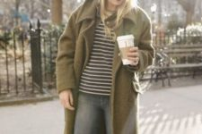 striped shirt fall outfit
