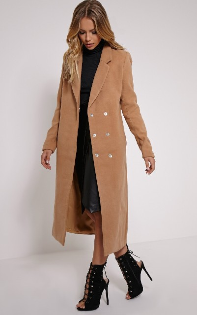 24 Double-Breasted Coat Ideas For Ladies