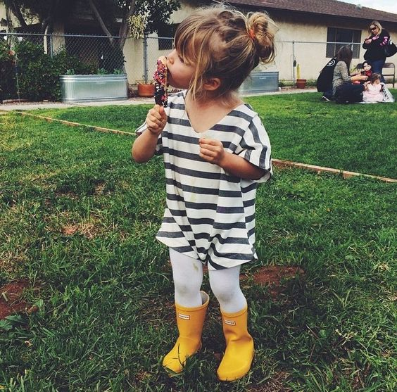 20 Fashionable Rainy Day Outfits For Little Girls