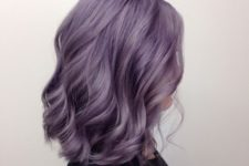 02 beautiful lavender shoulder-length hair