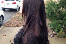 03 brownish black cherry hair