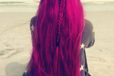 03 long fuchsia hair