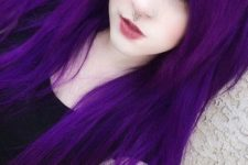 06 super bold purple hair looks awesome with pale complexion