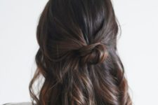 08 babylight for dark hair with warm highlight colors