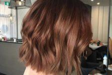 08 chestnut color looks amazing on short hair