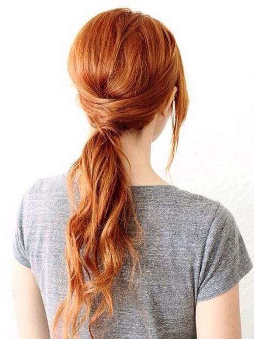 rich copper hair shade