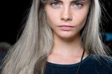 09 intense silver blonde hair
