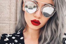 10 classic light grey hair