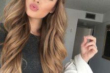 10 soft caramel hair looks very girlish