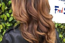 11 brown hair with caramel balayage is super hot and trendy now