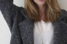 11 fair hair with brown lowlights