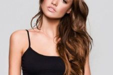 14 chestnut brown hair with lighter tones to give your hair a more eye-catching look