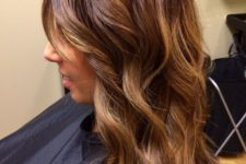 15 chestnut hair color with honey tones