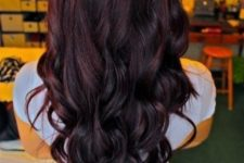 16 cherry coke hair with an ombre effect