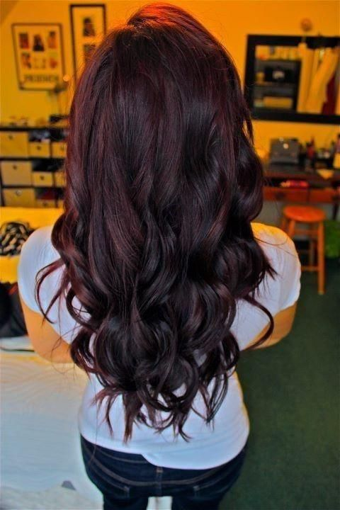 Cherry E Hair With An Ombre Effect
