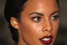 17 fabulous glowing skin and vampy lips