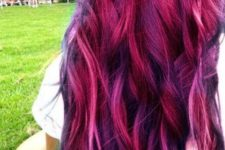 17 magenta with purple highlights