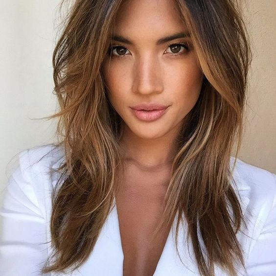 28 Soft And Girlish Caramel Hair Ideas